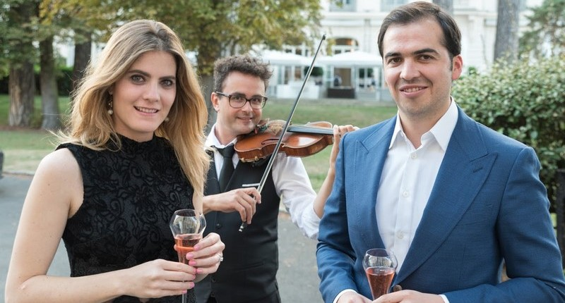 violoniste pour demande en mariage