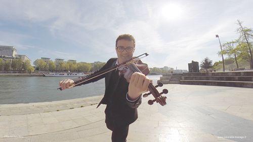 violoniste jazz mariage