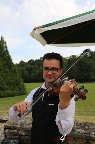 violoniste pour anniversaire