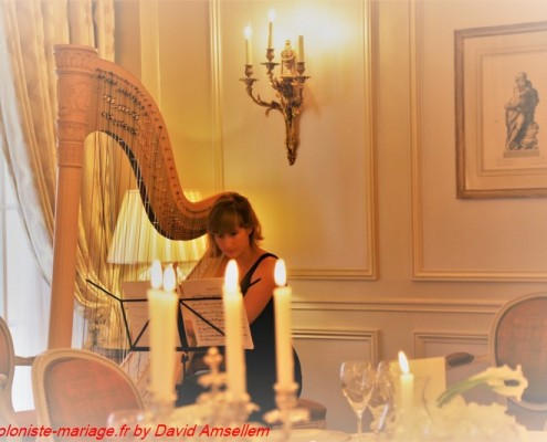 Harpiste mariage