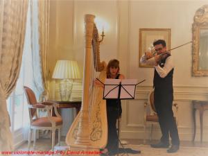 Duo violon et harpe